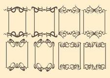Dekorative Designgrenze der Weinlese Lizenzfreie Stockbilder