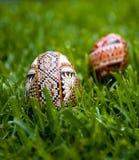 Dekorative Eier Lizenzfreies Stockbild