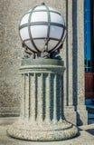 Dekorative Eisen-Kugel-Lampe Stockfoto