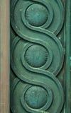Dekorative Eisenarbeit Lizenzfreies Stockbild