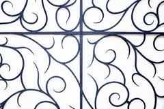 Dekorative Eisenstangen Lizenzfreies Stockbild