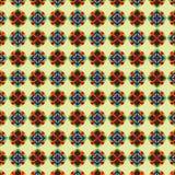 Dekorative Elemente Seampless-Musters Lizenzfreie Stockfotografie