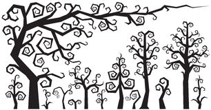 Dekorative Fantasie-Anlage, Bush, Baum, Kraut Stockfotos