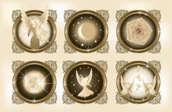 Dekorative Fantasie-Elemente 1 Stockfotografie