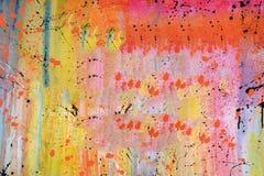 Dekorative Farbenweinlese-Schmutzhintergründe Lizenzfreies Stockbild