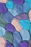 Dekorative Farbgewölbter Gips Hintergrund, XXXL Stockbild