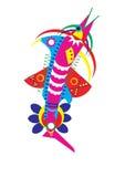 Dekorative Fische stock abbildung