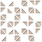 Dekorative Fliesen der Wand - abstraktes Täfelungsmuster lizenzfreie abbildung