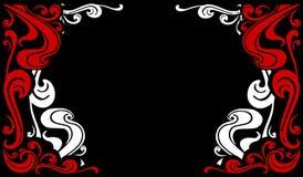 Dekorative Flourishes-Ränder 2 Stockfotos