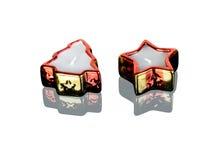 Dekorative geformte Kerzen Lizenzfreies Stockbild