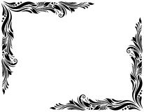 Dekorative Grenzart 1 groß Lizenzfreies Stockbild