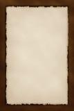 Dekorative Grunge Rand-Serie - Schokolade Stockbild