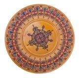 Dekorative handgemachte Platte der Weinlese für Verkauf Lizenzfreies Stockfoto