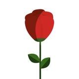dekorative Ikone der netten Blume Lizenzfreie Stockfotos