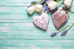 Dekorative Innere und Blumen Lizenzfreies Stockbild