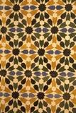 Dekorative Keramikziegel stockbilder