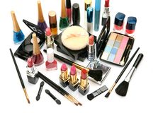 Dekorative Kosmetik Stockfotografie