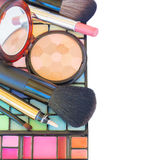 Dekorative Kosmetikgrenze Stockbilder