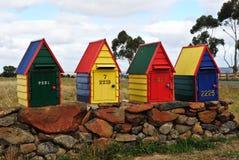 Dekorative Landmailboxes Stockbilder