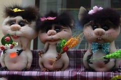 Dekorative Mäuse lizenzfreie stockfotos