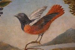 Dekorative Malerei in Rom stockfotografie