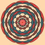 Dekorative Mandala lizenzfreie abbildung