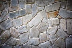 Dekorative Maurerarbeit Steinwand-Ziegelsteinhintergrund Stockbilder