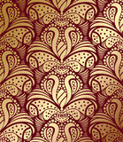 Dekorative nahtlose Blumenverzierung vektor abbildung