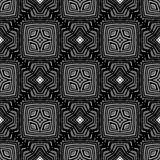 Dekorative nahtlose Linie Muster Stockfoto