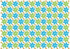 Dekorative nahtlose Muster-Vektor-Hintergrundweinlese-Blumenbeschaffenheit Lizenzfreies Stockfoto