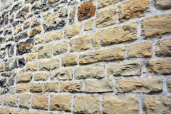 Dekorative natürliche Farbe des Steinwand-Beschaffenheitshintergrundes Lizenzfreie Stockfotografie