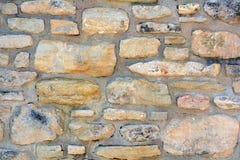 Dekorative natürliche Farbe des Steinwand-Beschaffenheitshintergrundes Stockfotos