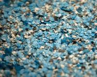 Dekorative Oberteilbeschaffenheit, blaue Brüche lizenzfreie stockfotos