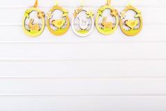 Dekorative Ostereier Stockbilder