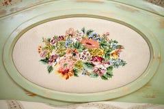 Dekorative Platten Stockbild