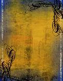 Dekorative Ränder Lizenzfreies Stockbild