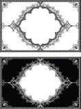Dekorative Rahmen der arabischen Artweinlese Lizenzfreie Stockbilder