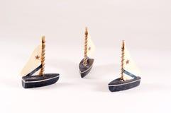 Dekorative Segelboote Lizenzfreies Stockfoto