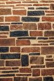 Dekorative Steinwand Stockbild
