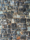 Dekorative Steinwand-Beschaffenheit Stockfoto