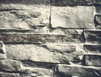 Dekorative Steinwand Hintergrund Stockbild
