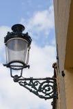 Dekorative Straßenbeleuchtung stockfotos