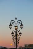 Dekorative Straßenbeleuchtung Stockfotografie