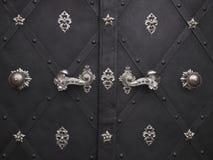 Dekorative Türen Stockfoto