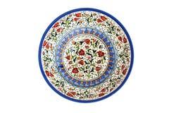 Dekorative türkische Platte lizenzfreie stockfotos