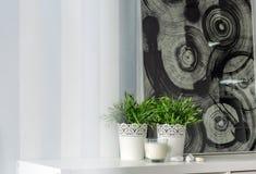 Dekorative Tapete mit Streifen Lizenzfreie Stockfotografie