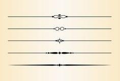 Dekorative Teiler und Akzente #3 vektor abbildung