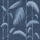 Dekorative tropische botanische Blätter - Innentapete lizenzfreie abbildung