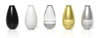 Dekorative Vasen stock abbildung