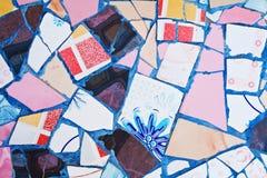 Dekorative Verzierung der Mosaikwand Lizenzfreie Stockfotos